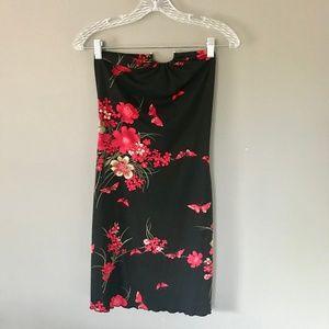 90's Vintage Finesse | Floral Dress